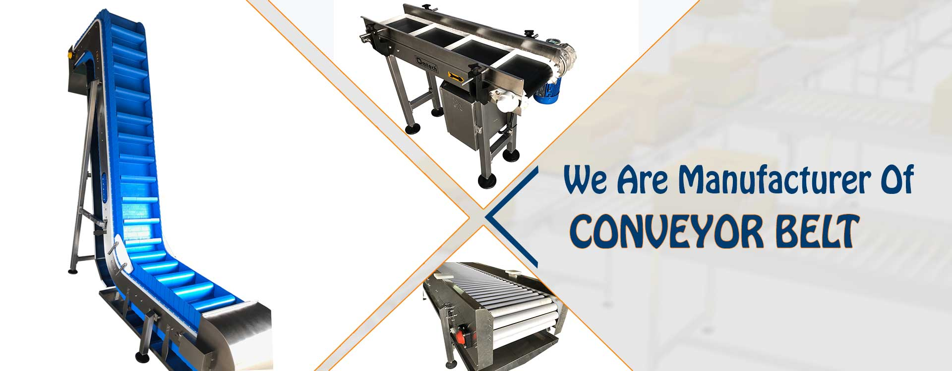 Conveyor Belt System Manufacturer and distributor in India
