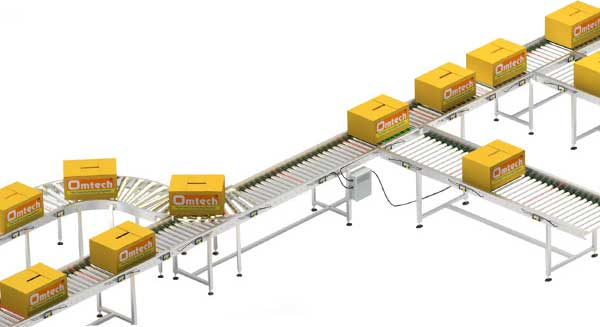 Powered  roller Conveyor distributor in India