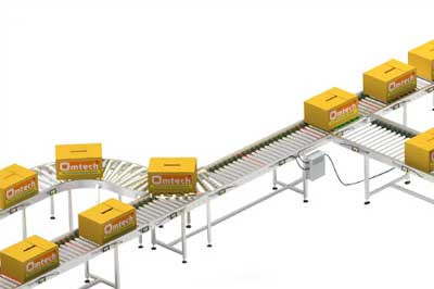 Roller Conveyor for bandsaw dealer from India