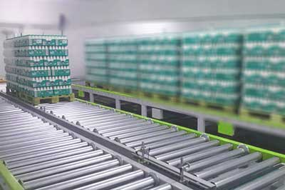 Roller Conveyor distributor for pallets in India